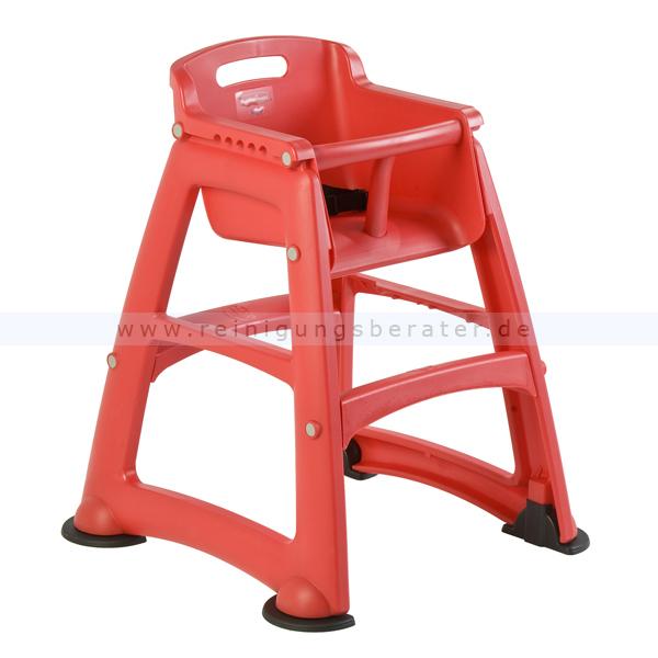 Kinderstuhl Rubbermaid Babystuhl Sturdy Chair Rot Hochstuhl mit Sicherheitsgurt 1912387