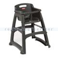 Kinderstuhl Rubbermaid Babystuhl Sturdy Chair Schwarz
