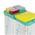 Zusatzbild Klappdeckel TTS für Kunststoffeimer transparent 4 L