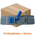 Klapphalter MopKnight für Taschenmop grau 40 cm Karton