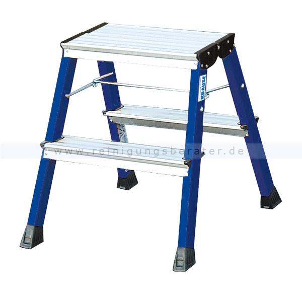 klapptritt krause trittleiter rolly 2x2 stufen. Black Bedroom Furniture Sets. Home Design Ideas