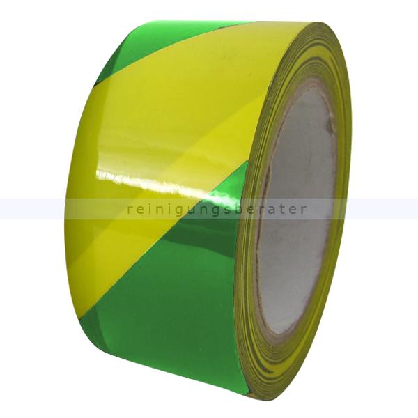 Klebeband Ergomat DS Hazard Supreme V 7,5cm grün/gelb 30m