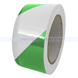 Klebeband Ergomat DS Hazard Supreme V 7,5cm grün/weiß 30m