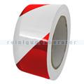 Klebeband Ergomat DS Hazard Supreme V 7,5cm rot/weiß 30m