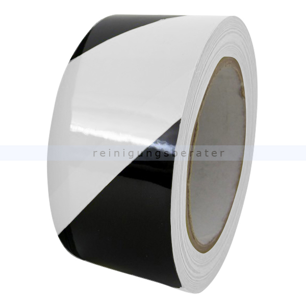 Klebeband Ergomat DS Hazard Supreme V 7,5cm schwarz/weiß 30m