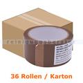 Klebeband Reinex Packband PP braun 48 mm x 66 m Karton