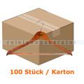 Kleiderbügel Simex Konfektionsbügel dunkles Holz 100 Stück