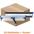 Klettmophalter MopKnight Alu Kletthalter silber 40 cm Karton