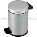 Kosmetikeimer Hailo Trento® 4 L Stahl Silber