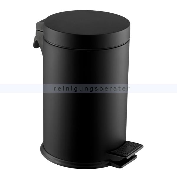 Kosmetikeimer Simex Black Line Stahl schwarz epoxy 3 L