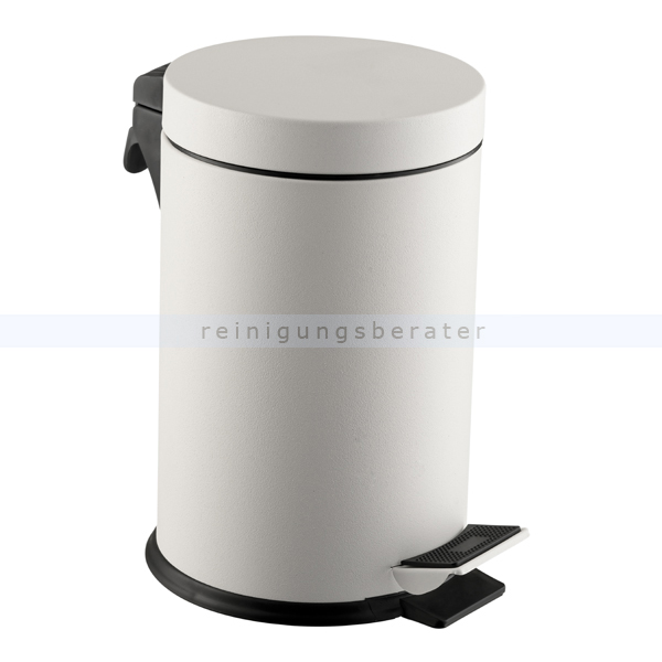 Kosmetikeimer Simex Stahl weiß epoxy 5 L