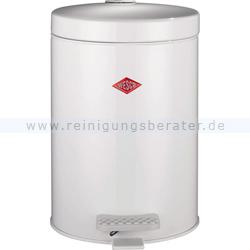 Kosmetikeimer Wesco 104 5 L weiß, Kunststoffeinsatz