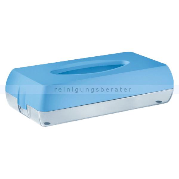 Kosmetiktuchspender Caresse MP687 Color Edition, blau