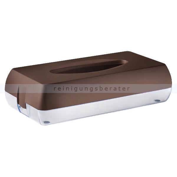 Kosmetiktuchspender Caresse MP687 Color Edition, braun