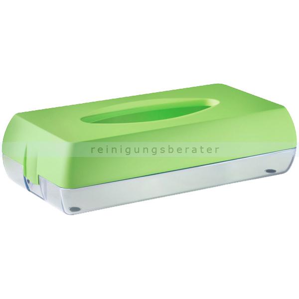 Kosmetiktuchspender Caresse MP687 Color Edition, grün