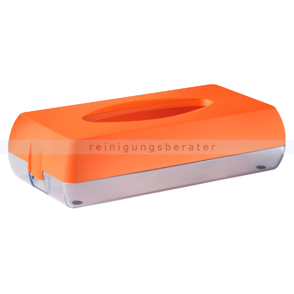 Kosmetiktuchspender Caresse MP687 Color Edition, orange
