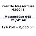 Kränzle Düsen Kränzle Messerdüse 045