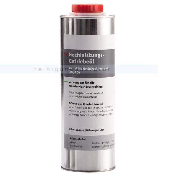Kränzle Getriebeöl 400932 1 L Hochleistungsöl für alle Kränzle Hochdruckpumpen
