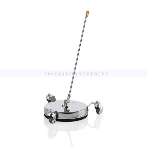Kränzle 41830 Terrassenreiniger Round Cleaner INOX 300 Bodenreinigungsgerät, Schraubsystem, Eingang M22x1,5 AG