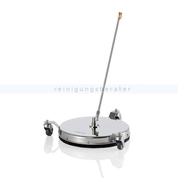Kränzle 41831 Terrassenreiniger Round Cleaner INOX 410 Bodenreinigungsgerät, Schraubsystem, Eingang M22x1,5 AG