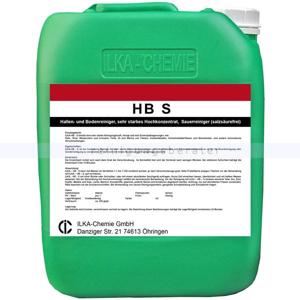 ILKA Chemie Kraftreiniger ILKA HB S 10 L Fliesen-, Hallen- und Bodenreiniger 0723010