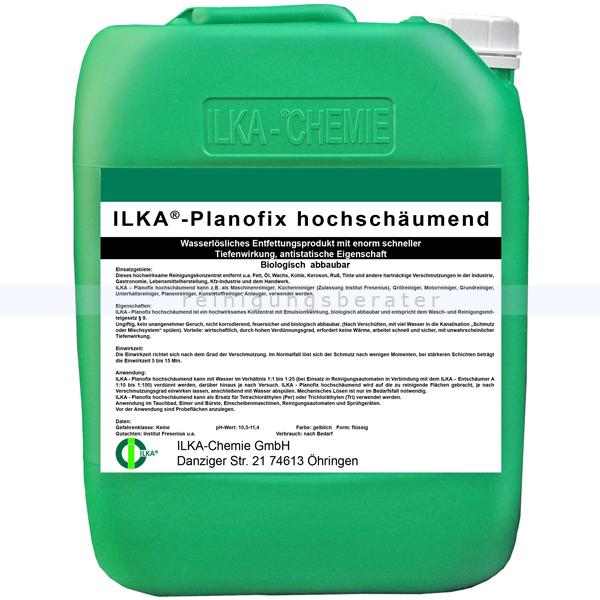 Kraftreiniger ILKA Planofix hochschäumend 10 L