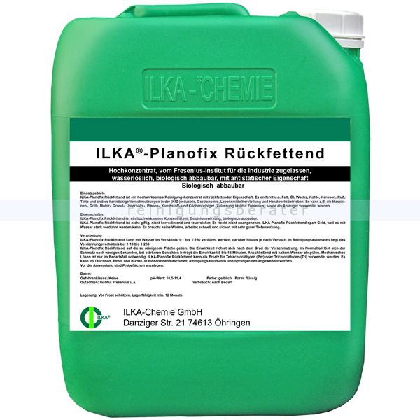 Kraftreiniger ILKA Planofix rückfettend 10 L