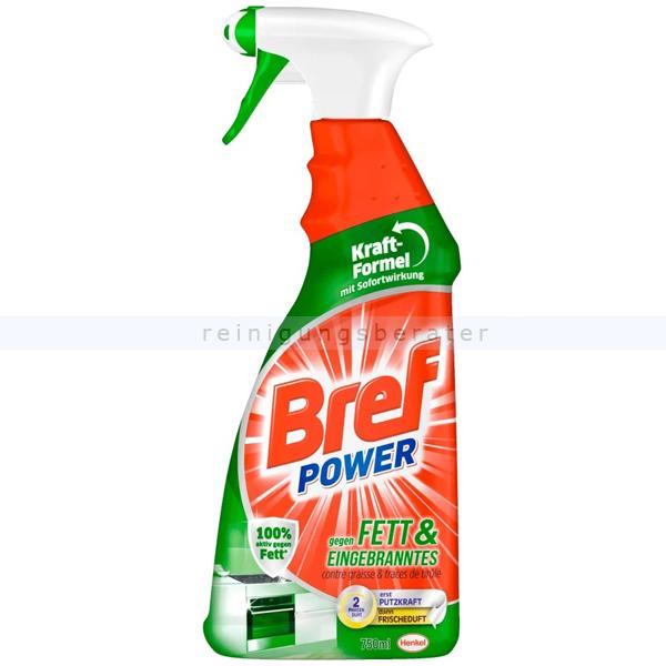 Henkel Bref power Spray 750ml gegen Fett und Eingebranntes Wirkt sofort gegen alle Arten von Fettschmutz im ganzen Haus A13000