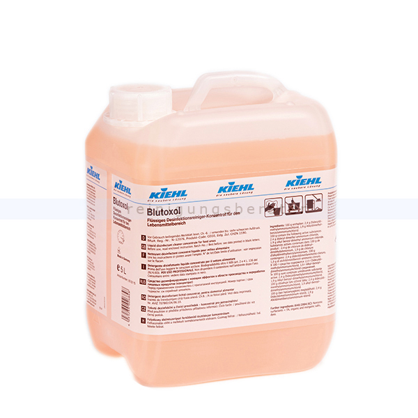 Küchenreiniger Kiehl Blutoxol Desinfektionsreiniger 5 L