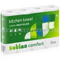 Küchenrollen Wepa Comfort 2 lagig, weiß 26x22 cm 4 Rollen
