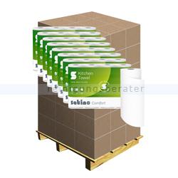 Küchenrollen Wepa Satino Comfort 3-lagig weiß 26x23 cm