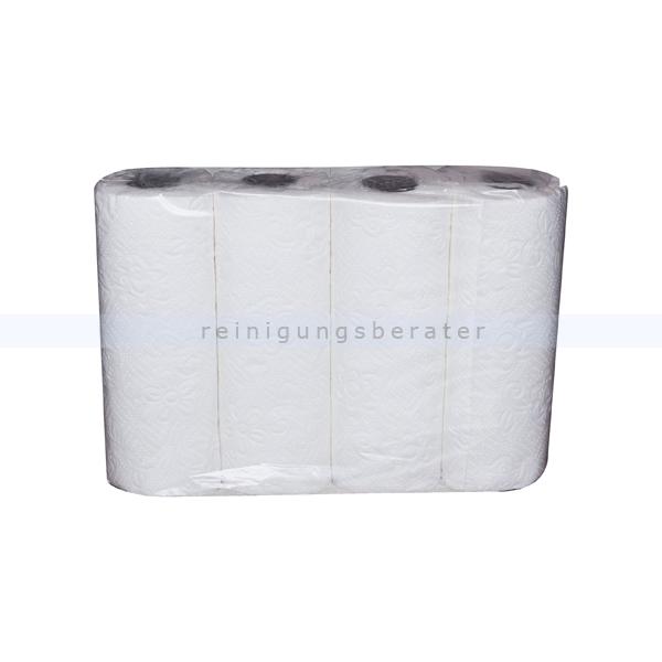 Küchenrollen Zellstoff 2-lagig, weiß 26 x 22,5 cm Kleinpaket