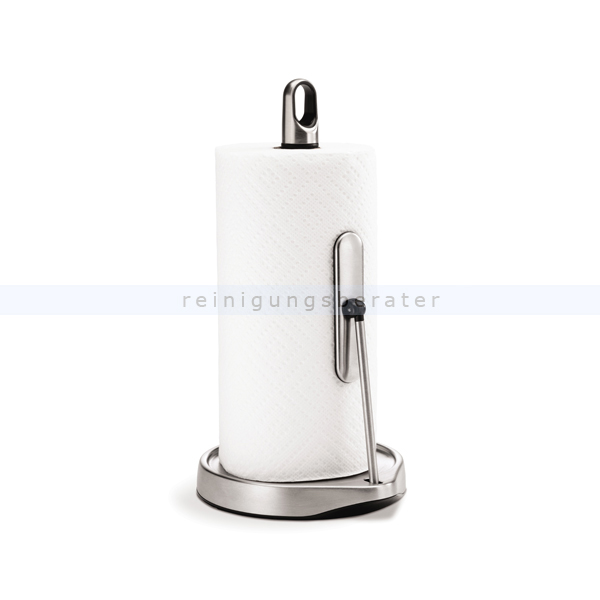 simplehuman k chenrollenhalter mit langem spannarm stehend. Black Bedroom Furniture Sets. Home Design Ideas