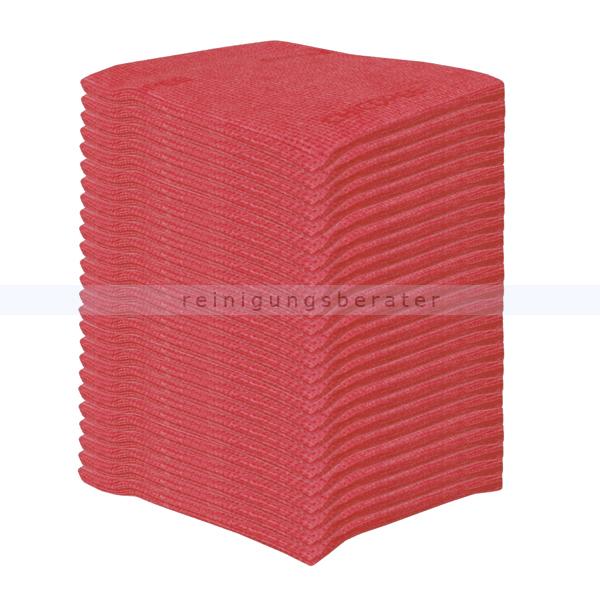 Küchentuch Chicopee Lavette Super Reinigungstücher rot