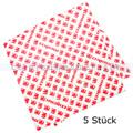 Küchentuch Meiko Fix Shine rot 36x38 cm