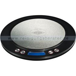 Küchenwaage Wesco Digital-Waage schwarz