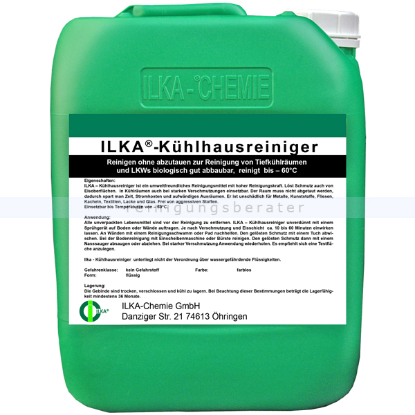 ILKA Chemie Kühlhausreiniger ILKA Kühlhausreiniger 30 L Reinigen ohne abzutauen 0814030