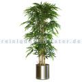 Kunstpflanze Bambus 150 cm, exklusive Blumentopf Grün