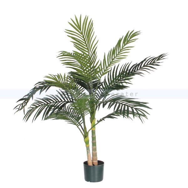 ReinigungsBerater Künstliche Pflanze Goldfruchtpalme 120 cm Grün ohne Übertopf 69654087