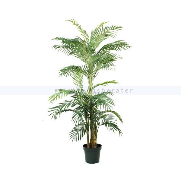 ReinigungsBerater Kunstpflanze Palme Areca Golden Cane, 190 cm Grün Palme Areca Golden Cane im Kunstsstofftopf 93933164