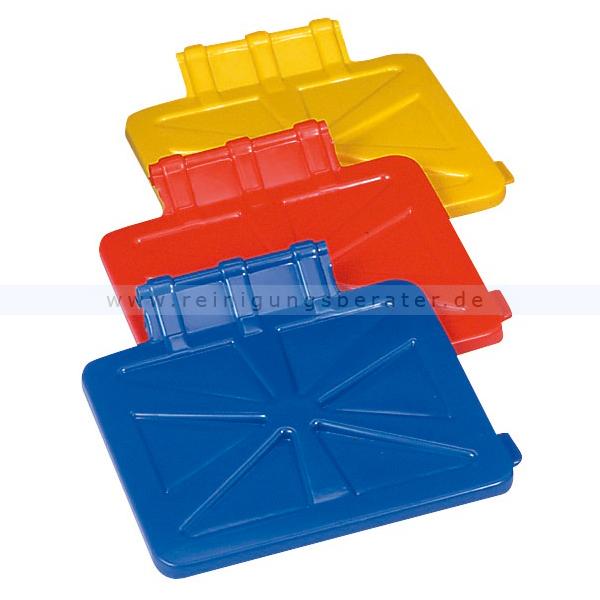 Kunststoffdeckel Floorstar für X-Wagen rot Kunststoffdeckel in der Farbe rot 180-110-11-034-R