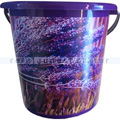 Kunststoffeimer Bekaform Dekor Eimer Lavendel 10 L