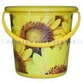 Kunststoffeimer Bekaform Dekor Eimer Sonnenblumen 10 L