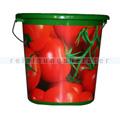 Kunststoffeimer Bekaform Dekor Eimer Tomaten 10 L
