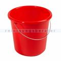 Kunststoffeimer Bekaform, Eimer Plast 5 L rot