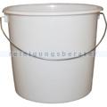 Kunststoffeimer Bekaform Eimer Plast weiß 5 L