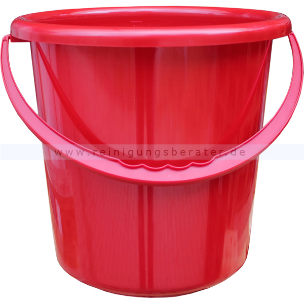 Großartig Eimer Plastik rot 10 L RS02