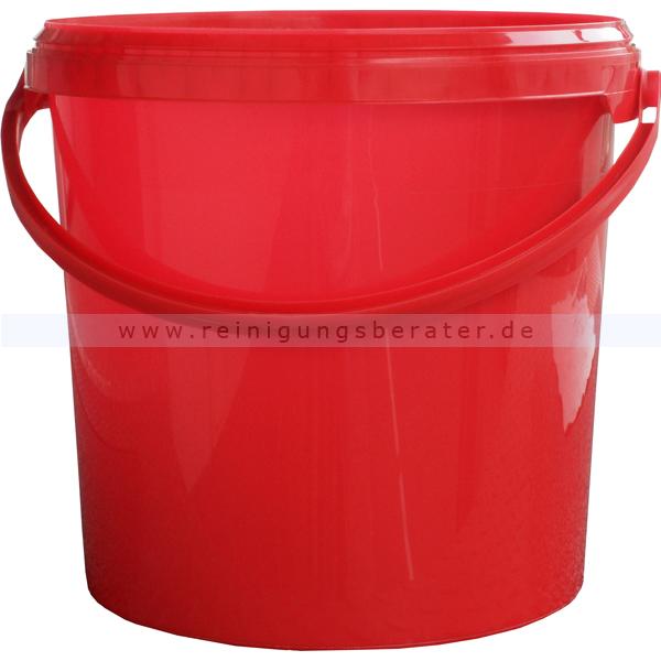 Neu Eimer Plastik rot 10 L ZN64
