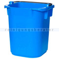 Kunststoffeimer Rubbermaid Hygen blau 5 L