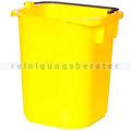 Kunststoffeimer Rubbermaid Hygen gelb 5 L